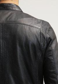 Gipsy - COBY - Leather jacket - schwarz - 5