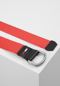 Tommy Jeans - DRING WEBBING - Pásek - red - 2