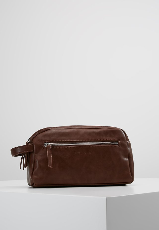UNISEX - Wash bag - brown