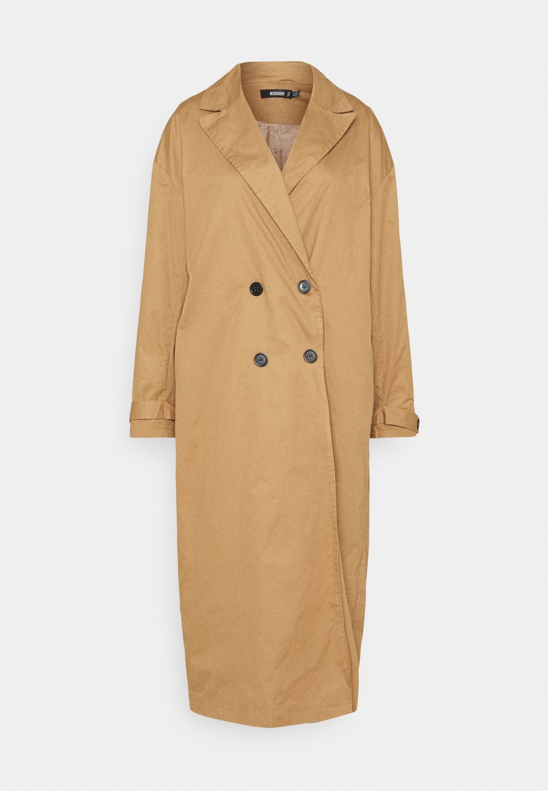 Missguided - Trenchcoat - brown