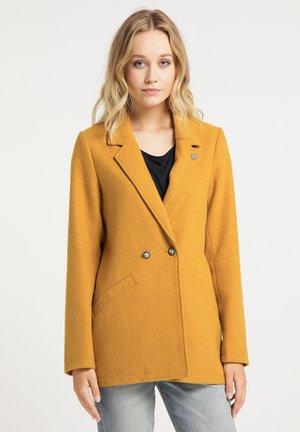 Short coat - senf