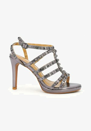 CHIAPPA - High heeled sandals - silver