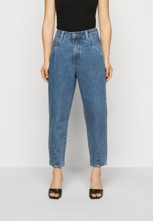 OBJMILA SLOUCHY  - Relaxed fit jeans - medium blue denim