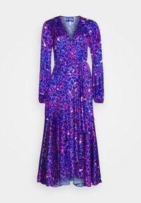 Cras - HARPER DRESS - Długa sukienka - malina - 0