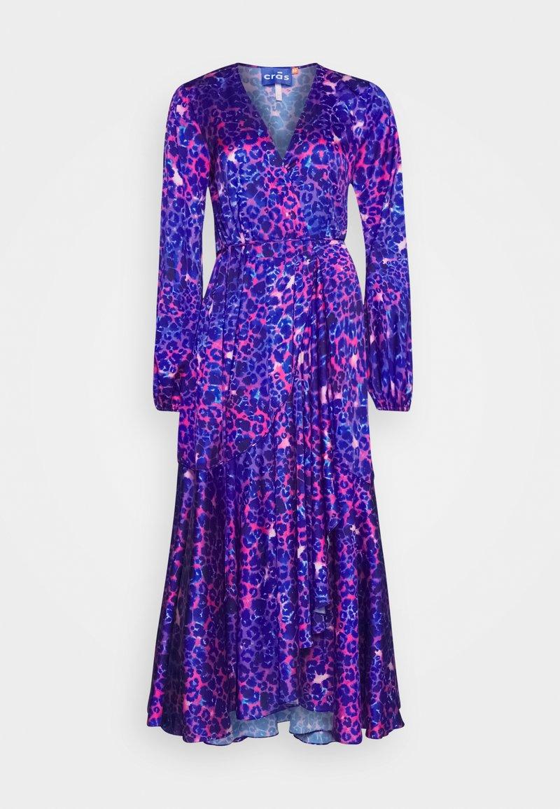 Cras - HARPER DRESS - Długa sukienka - malina