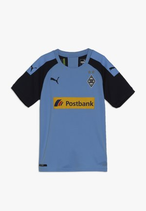 BORUSSIA MÖNCHENGLADBACH AWAY REPLICA WITH SPONSOR - Klubbkläder - team light blue/peacoat