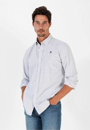 Shirt - navy stripes