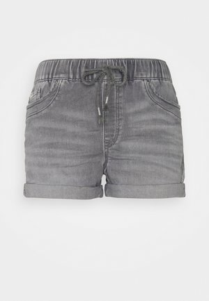 Shorts di jeans - grey medium wash