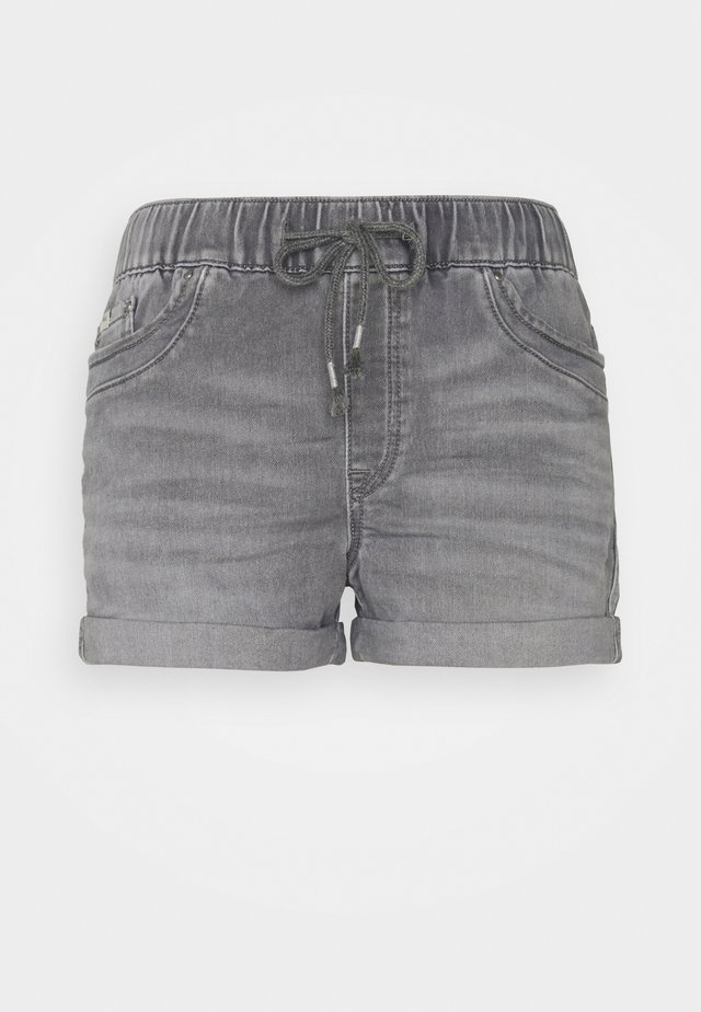 Shorts di jeans - grey medium wash