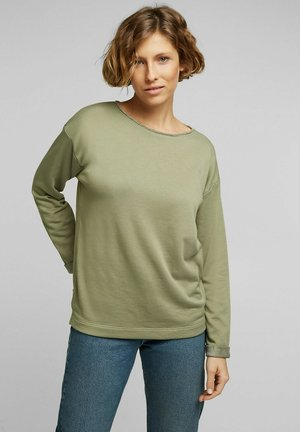 Sweatshirt - light khaki