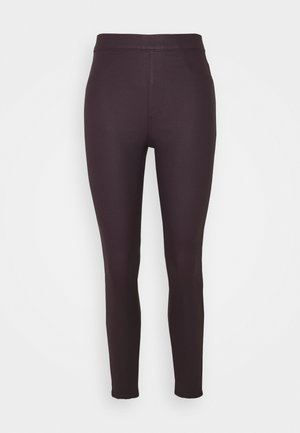 Jeggings - dark purple