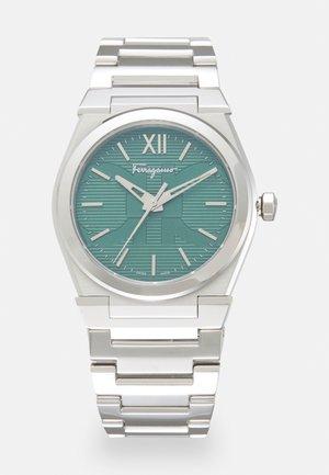 VEGA - Montre - silver-coloured/green