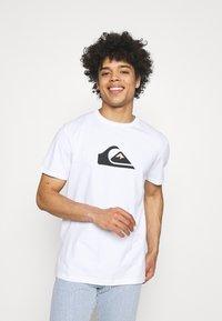 Quiksilver - COMP LOGO  - T-shirt con stampa - white - 0