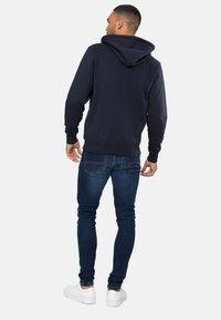 Threadbare - TANGERINE - Zip-up hoodie - blau - 2