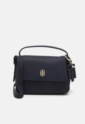 SOFT CROSSOVER - Handbag - blue