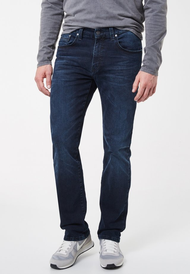 RANDO - Straight leg jeans - dark blue denim