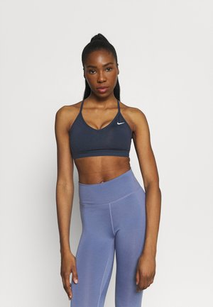 INDY  - Light support sports bra - smoke grey/pure