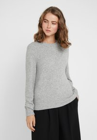 J.CREW - SUPERSOFT CREW OUT EXCLUSIVE - Jumper - heather grey - 0