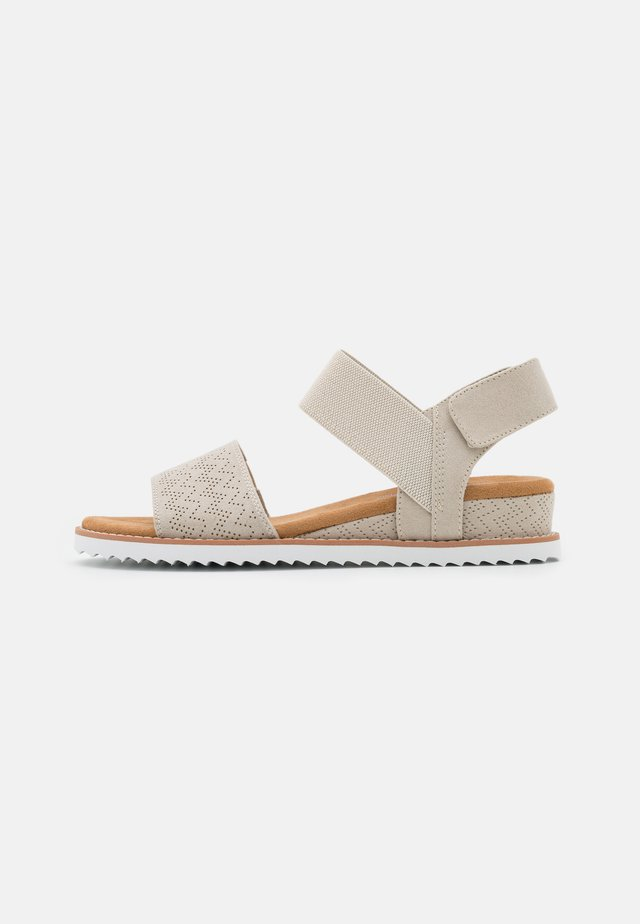 DESERT KISS - Wedge sandals - offwhite