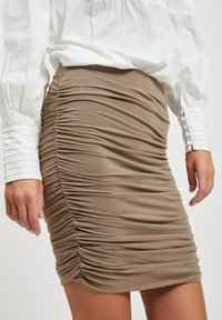 Object - Mini skirt - fossil - 3