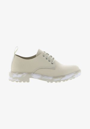 Volnočasové šněrovací boty - off white