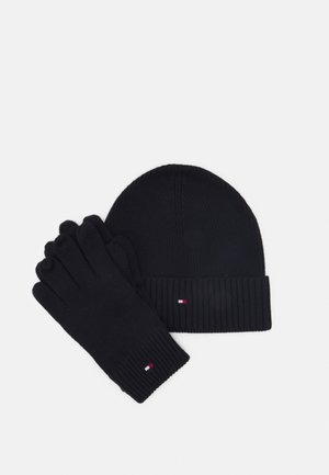 BEANIE GLOVES UNISEX SET - Bonnet - desert sky