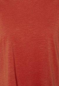 edc by Esprit - TIE TEE - Print T-shirt - terracotta - 2
