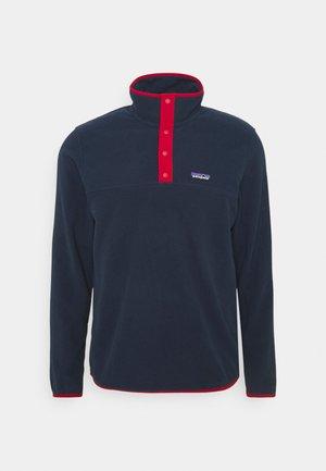 MICRO SNAP - Fleece trui - new navy/classic red