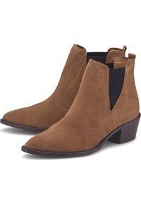 Belmondo - Classic ankle boots - mittelbraun - 2