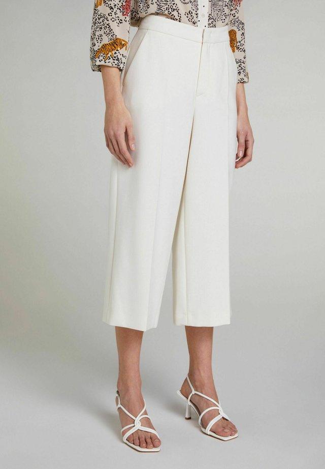 Pantalon classique - antique white