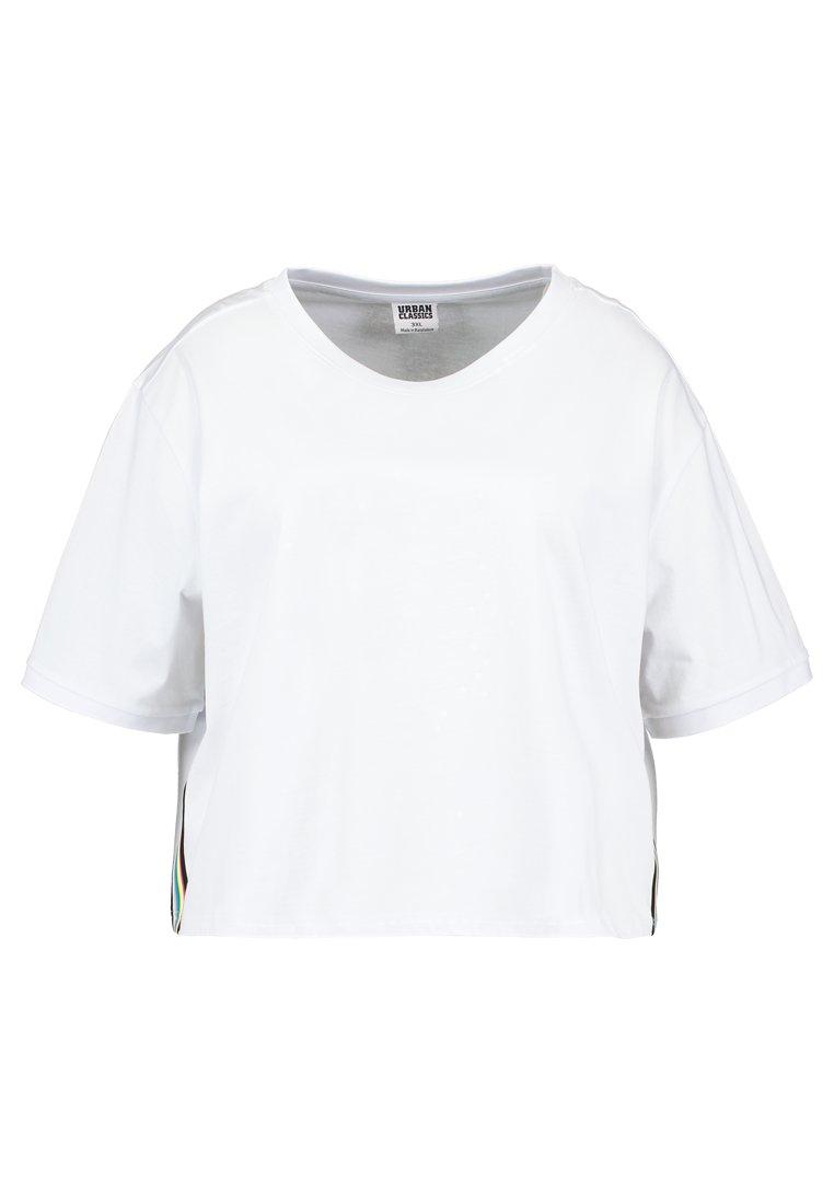 Women LADIES SIDE TAPED TEE - Print T-shirt