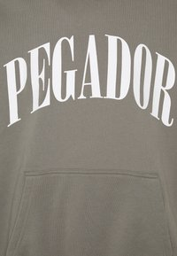 Pegador - CALI HOODIE UNISEX - Hoodie - washed frost grey - 2