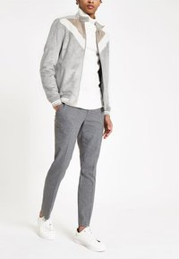 River Island - Faux leather jacket - grey - 1