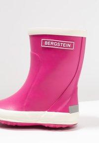 Bergstein - RAINBOOT - Gummistøvler - fuxia - 2