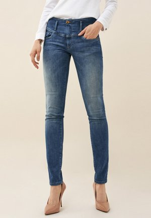 MYSTERY PUSH UP  - Jeans Skinny Fit - blue