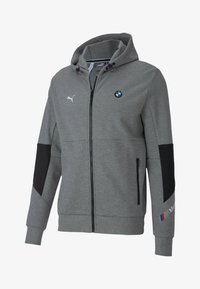 Puma - BMW MOTORSPORT  - Zip-up hoodie - medium gray heather - 0