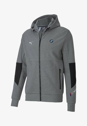 BMW MOTORSPORT  - veste en sweat zippée - medium gray heather