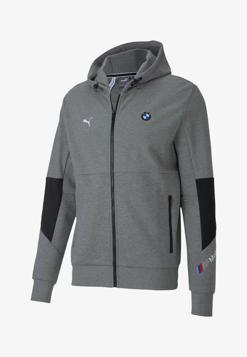 Puma - BMW MOTORSPORT  - Zip-up hoodie - medium gray heather