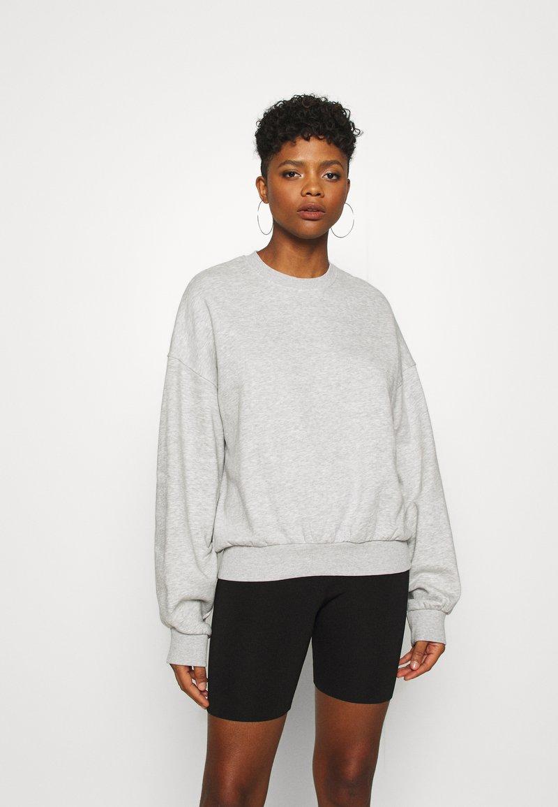 Weekday - PAMELA OVERSIZED - Sweatshirt - light grey