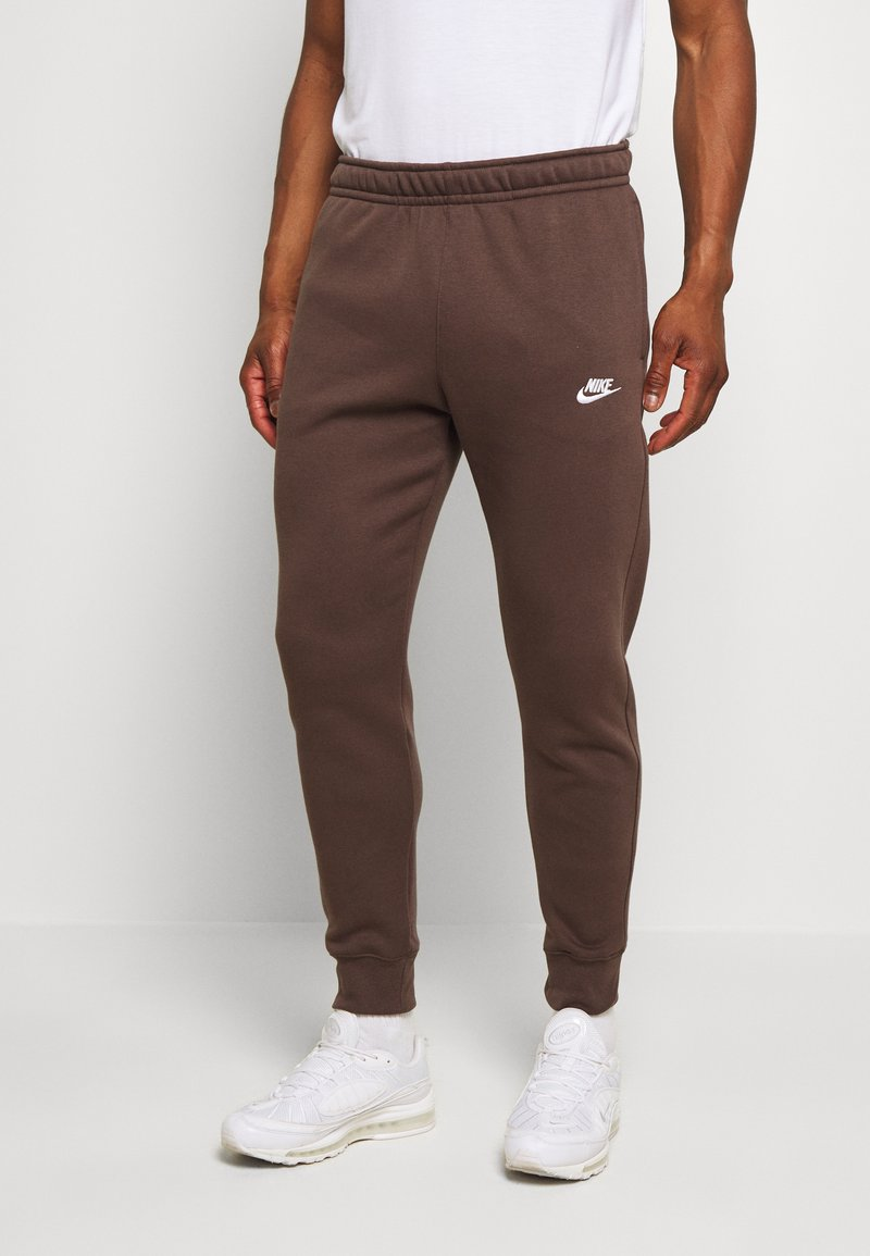 Nike Sportswear - CLUB - Tracksuit bottoms - baroque brown