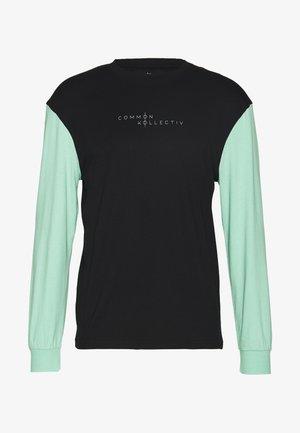 UNISEX MOTIV LONGSLEEVE - T-Shirt print - black