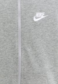 Nike Sportswear - NEW HOODIE UNISEX - Zip-up hoodie - grey heather/white - 2