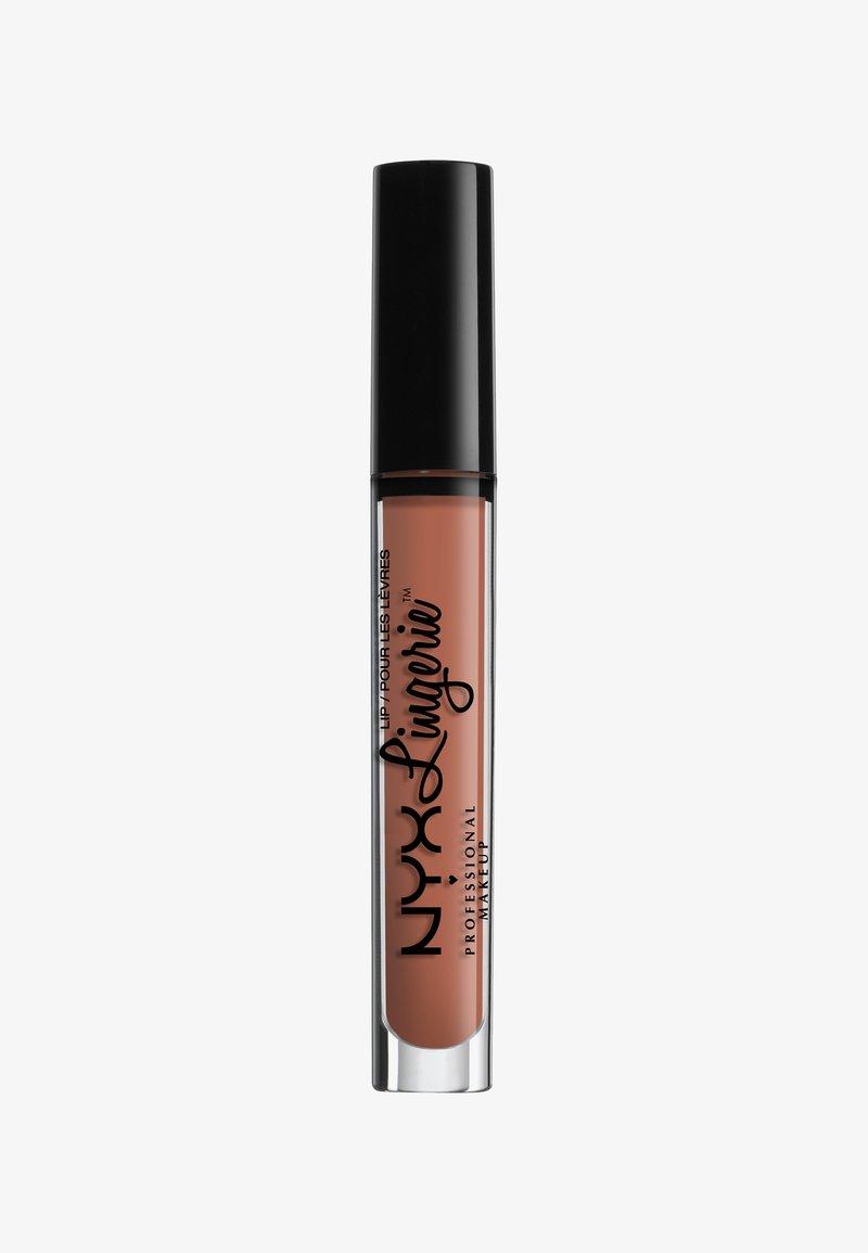Nyx Professional Makeup - LINGERIE LIQUID LIPSTICK - Liquid lipstick - 4 ruffle trim