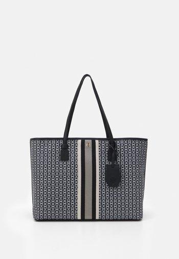 GEMINI LINK ZIP TOTE - Tote bag - black