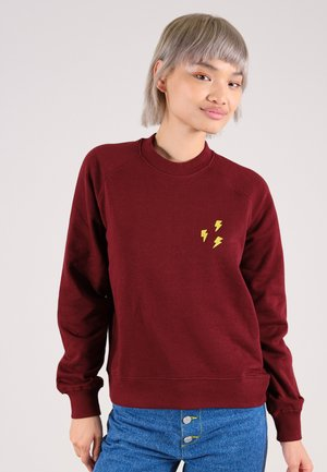 FLASH - Sweater - burgundy