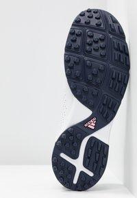 adidas Golf - ADIPURE SC - Golfové boty - footwear white/collegiate navy/true pink - 4