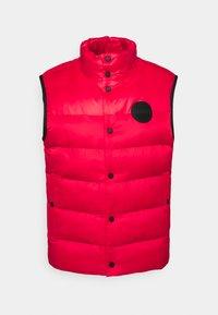 HUGO - BALTINO - Waistcoat - open pink - 0