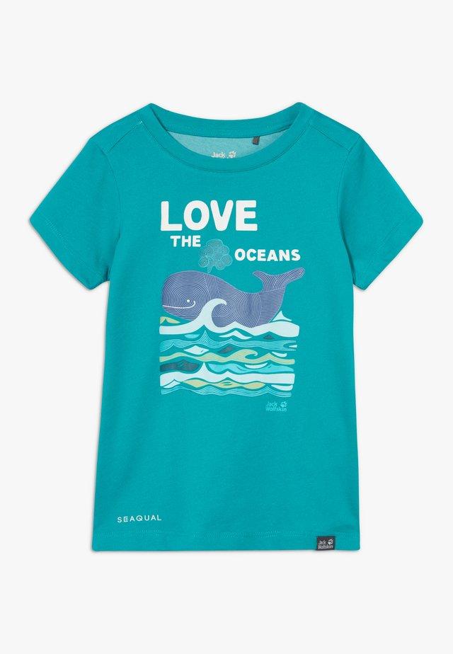 OCEAN KIDS - T-shirt imprimé - green ocean