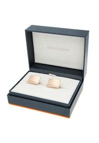 DAVIDOFF - Cufflinks - rose gold-coloured - 3