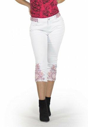 Shorts vaqueros - blanco